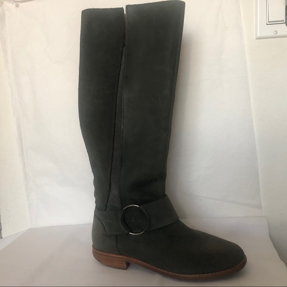 OluKai Hololio II Boots Grey olive 7.5 Over knee